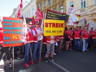 Demonstration am 13. Juni 2017