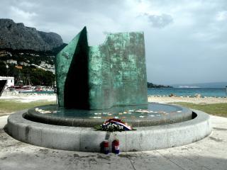 Kriegerdenkmal in Omiš