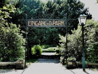 Eingang zum Kurpark