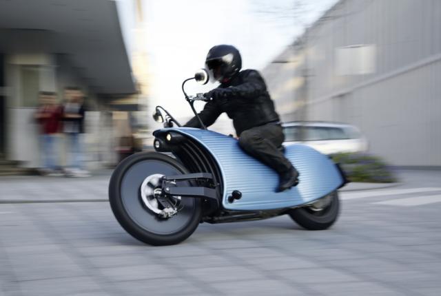 Johammer ist ein fast zu 100 % aus österreichischen Materialien gebautes Elektro-Motorrad