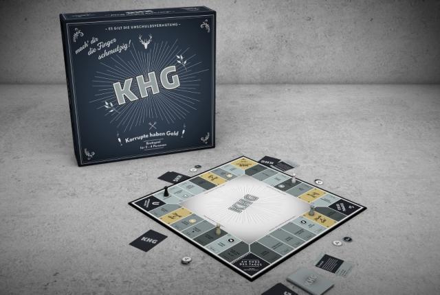 Brettspiel: KHG - Korrupte haben Geld