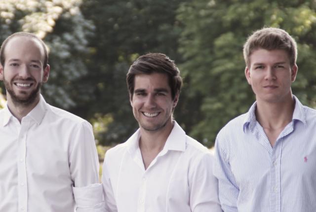 Das bgood-Team Philipp Wasshuber, Christoph Hantschk und Alexander Hackel