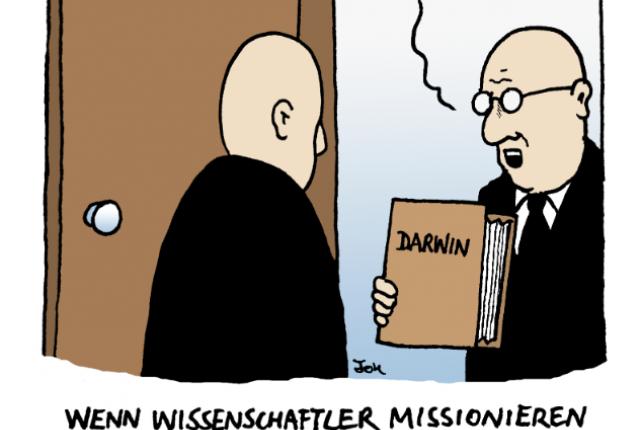 Wenn Wissenschafter missionieren