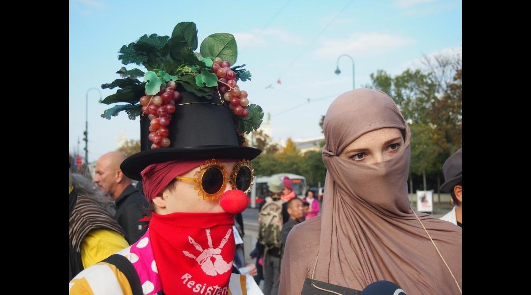 Demonstrantinnen