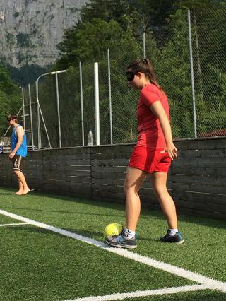 Blindenfußball