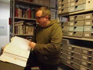 Andreas Brunner leitet den Verein Qwien, Zentrum für Schwule und Lesbische Geschichte in Wien