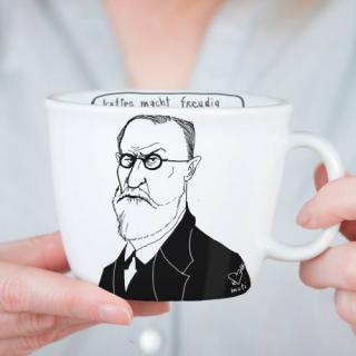Aus Polen bringen Designerinnen handbemalte Kaffeetassen