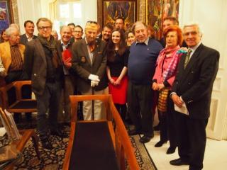 Kickofftreffen der Bürgerinitiative Steinhof erhalten in der Fuchs-Villa
