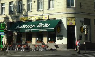 Außenansicht des Traditionscafe Industrie am Margaretengürtel in Wien