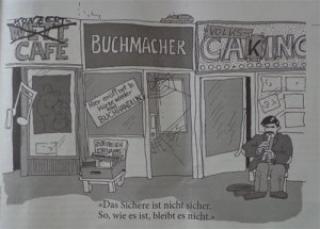 Karikatur Augustin, Republik Reinprechtsdorf, Initiative, Wettlokale