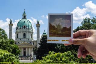PolaWalk, Polaroifotos, Fotografieren, Wien