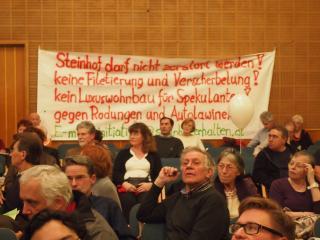 Bürgerversammlung, Steinhof, OWS, Hadinger